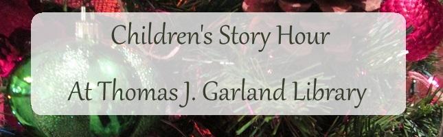christmas banner story hour