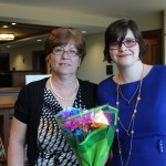 Kathy Hipps, Assistant Director, and Meagan.