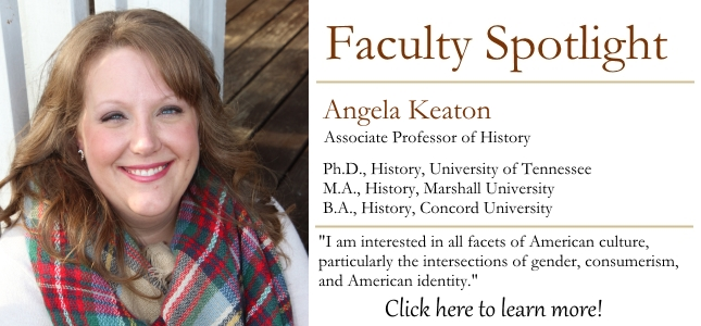 angela keaton faculty spotlight