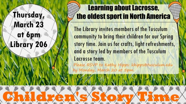 2017 story time lacrosse