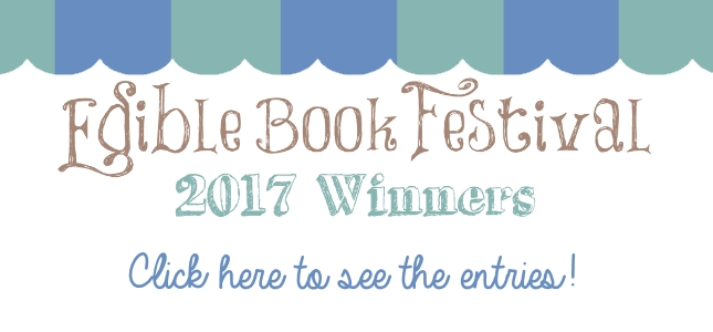 edible book 2017 winners banner