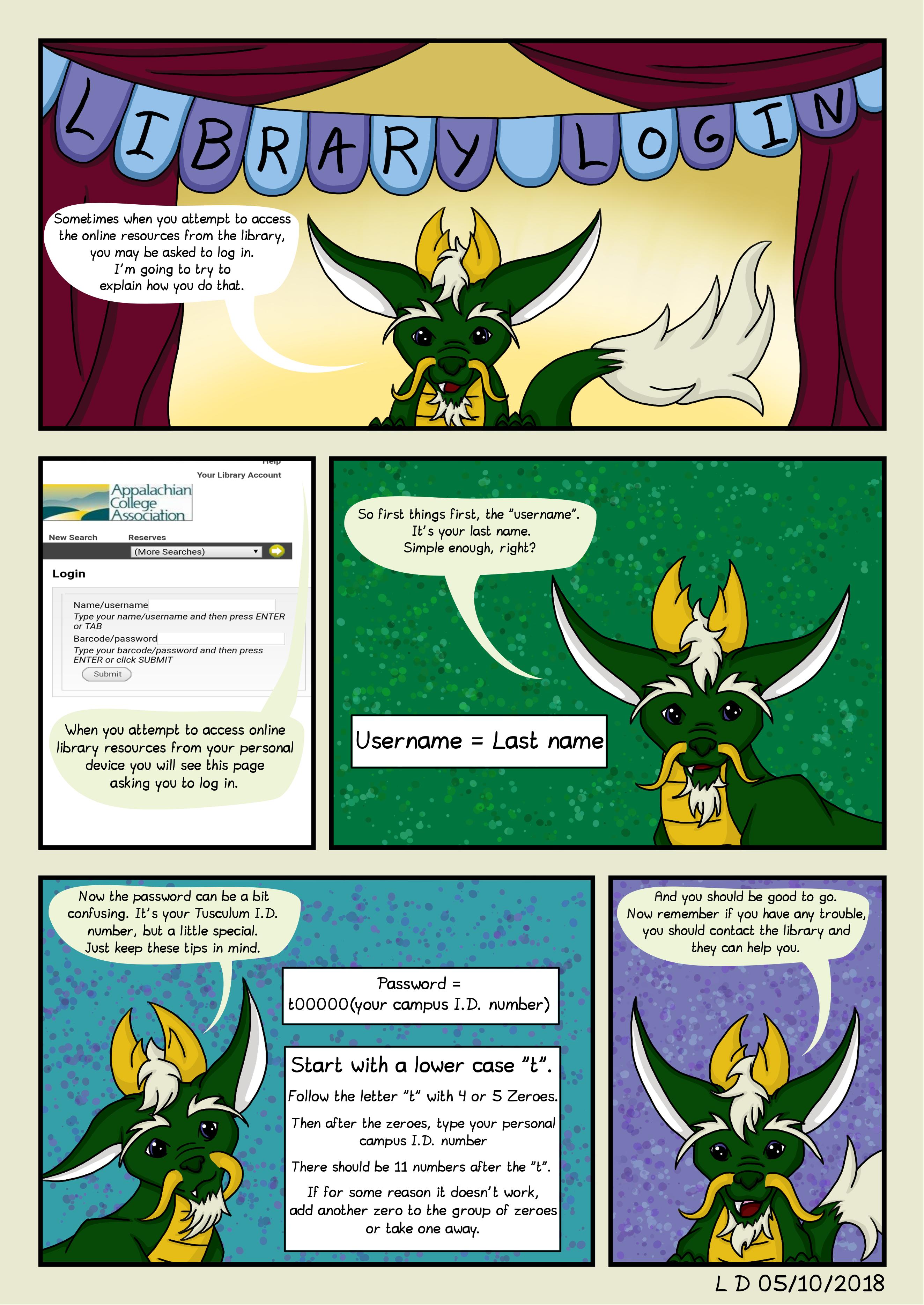 Comic 5 Library Login