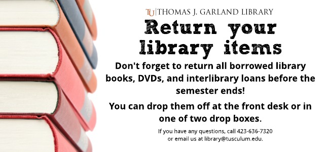 Return Library Items Reminder website
